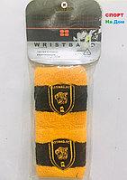 Wristband Напульсники на руку, предплечье Ittihad FC (цвет желтый, черный)