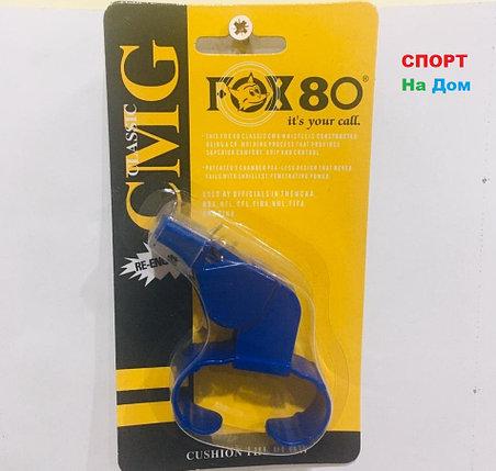 Свисток на руку (браслет) тренерский футбольный FOX 80 CMG Classic (цвет синий), фото 2