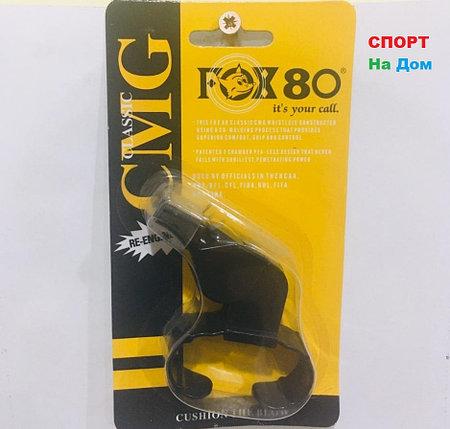 Свисток на руку (браслет) тренерский футбольный FOX 80 CMG Classic (цвет черный), фото 2