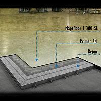 Нанесение промышленных наливных полов Mapefloor System 33