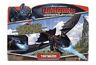 Большой дракон Беззубик, дышит огнем, Dragons, фото 1