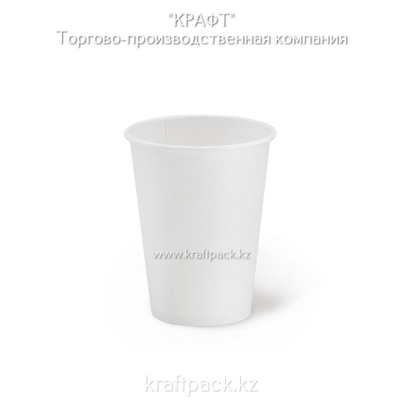 Бумажный стакан белый  для горячих/холодных напитков 350мл (12 OZ) D90 (50/1000)