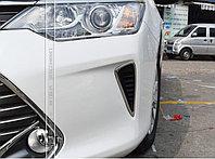Хром оправа на передний заглушки в бампер Camry V55 2014-17, фото 1