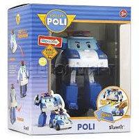 Поли трансформер со световым эффектом и инструментами, Robocar Poli, фото 1
