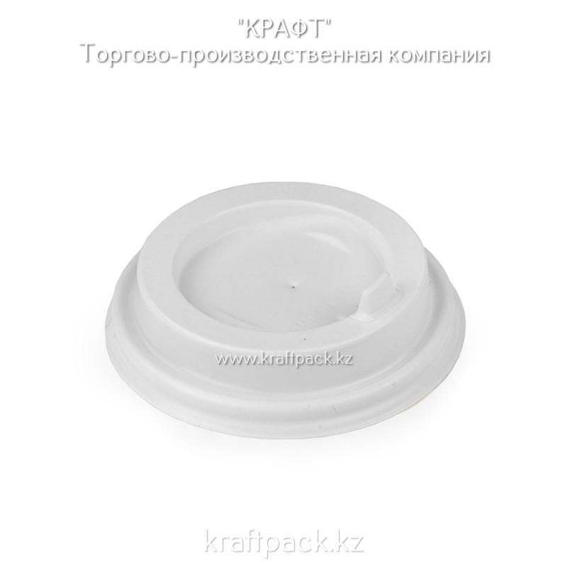 Крышка пластиковая с клапаном, белая D80 DoEco (100/1000)