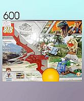 Конструкторы, динозавры. 54 детали., фото 1