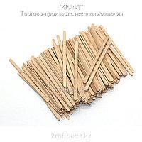 Эко-упаковка, деревянный размешиватель 140мм DoEco (500)