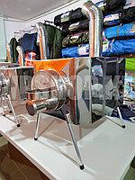 Печка для палаток теплообменник пошехонка Большая доставка