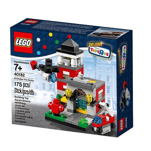 40182 Lego Bricktober Fire Station EXCLUSIVE