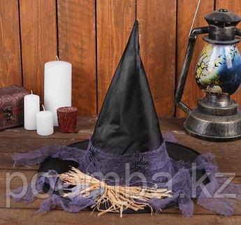"""Карнавальная шляпа """"Ведьмочка"""""""