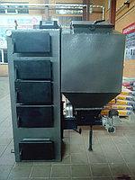 Твердотопливный котел отопления Горняк с податчиком от 8 кВт до 30 кВт (от 80 кв.м. до 300 кв.м )
