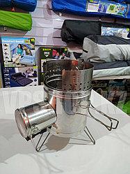 Печка-щепочница Турбо PS1500Т для зимней рыбалки и охоты, доставка