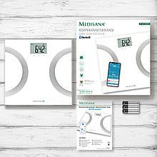 Диагностические весы Medisana BS 445 Connect(Германия)