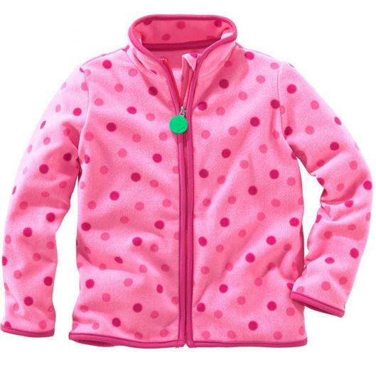 Флисовая кофта, цвет розовый 100 см.