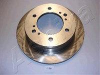 Тормозные диски Nissan Terrano I (WD21, задние , Ashika)
