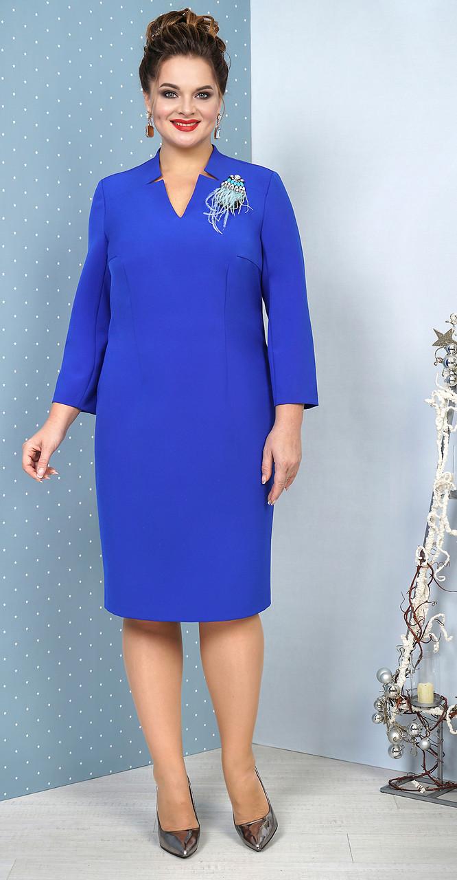 Платье Alani-1033, василек, 54