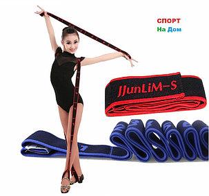Резиновая эластичная лента эспандер Super Dance (цвет серый), фото 2