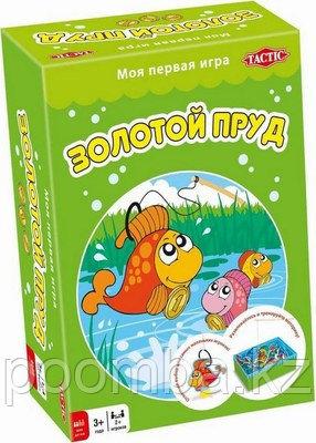 """Настольная игра для детей - """"Золотой пруд"""""""