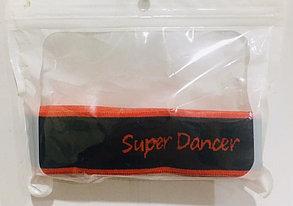 Резиновая эластичная лента эспандер Super Dance (цвет красный), фото 3