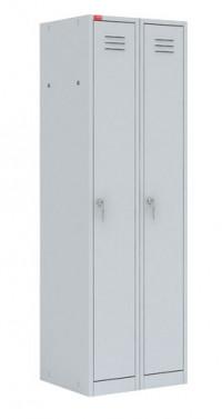 Шкаф для одежды двухсекционный модульный (600х500х1860) арт. ШРМ/22М