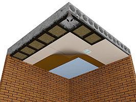 Каркасная звукоизоляция потолка Комфорт