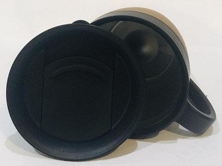 Термокружка термос для горячих напитков 300 мл (цвет бронза), фото 2