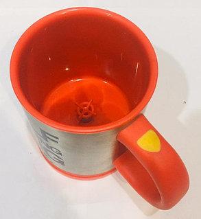 Кружка мешалка Self Stirring Mug 300 мл (желтый), фото 2
