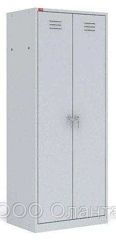 Шкаф для одежды двухсекционный (600х500х1860) арт. ШРМ22