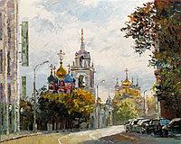 """Картины по номерам - """"Церковь Георгия Победоносца в Москве"""" под заказ 3 дня"""