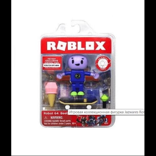 Jazwares Roblox Игровая коллекционная фигурка Core Figures Robot 64: Beebo W5