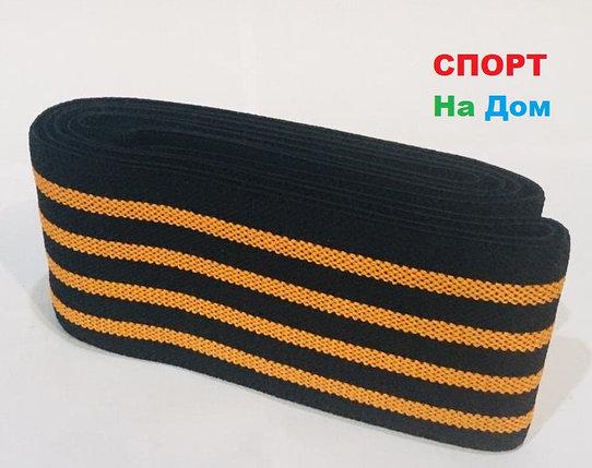 Бинты для тяжелой атлетики эластичный длина 2 метра (цвет оранжевый), фото 2