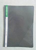 Папка - Скоросшиватель А4ф прозрачный верх 100/120мкм Серая