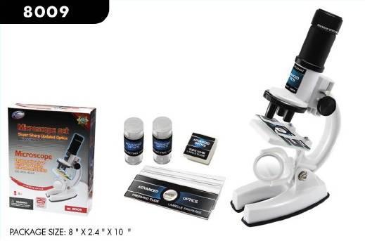 """Набор для экспериментов """"Микроскоп"""" (100/200/450x)"""