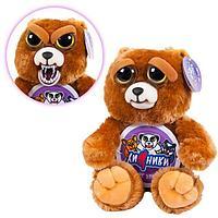 """Мягкая игрушка """"Feisty Pets. Хищники"""" - Бурый Медведь, меняющий настроение"""