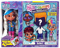 Hairdorables hairDUDEables Sallee BFF 2-Pack