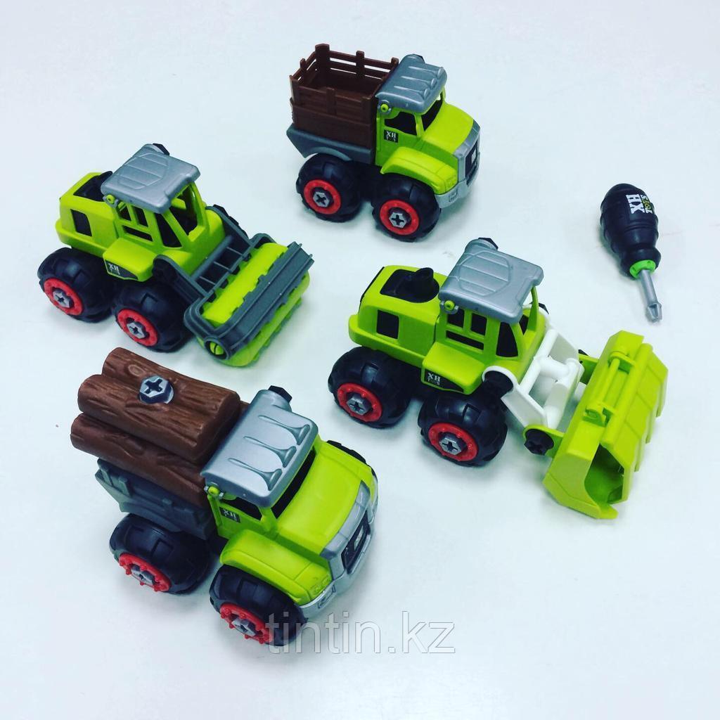 Набор из 4 фермерских машин