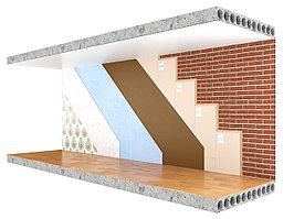 Бескаркасная звукоизоляция стен Комфорт