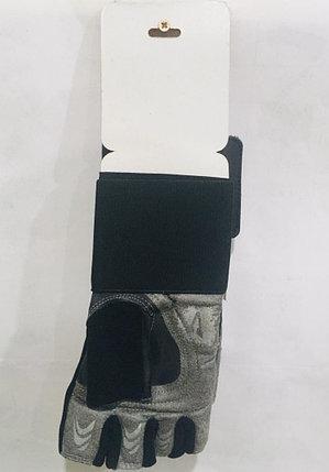 Перчатки для фитнеса, атлетические Velo Размер L (цвет черный), фото 2