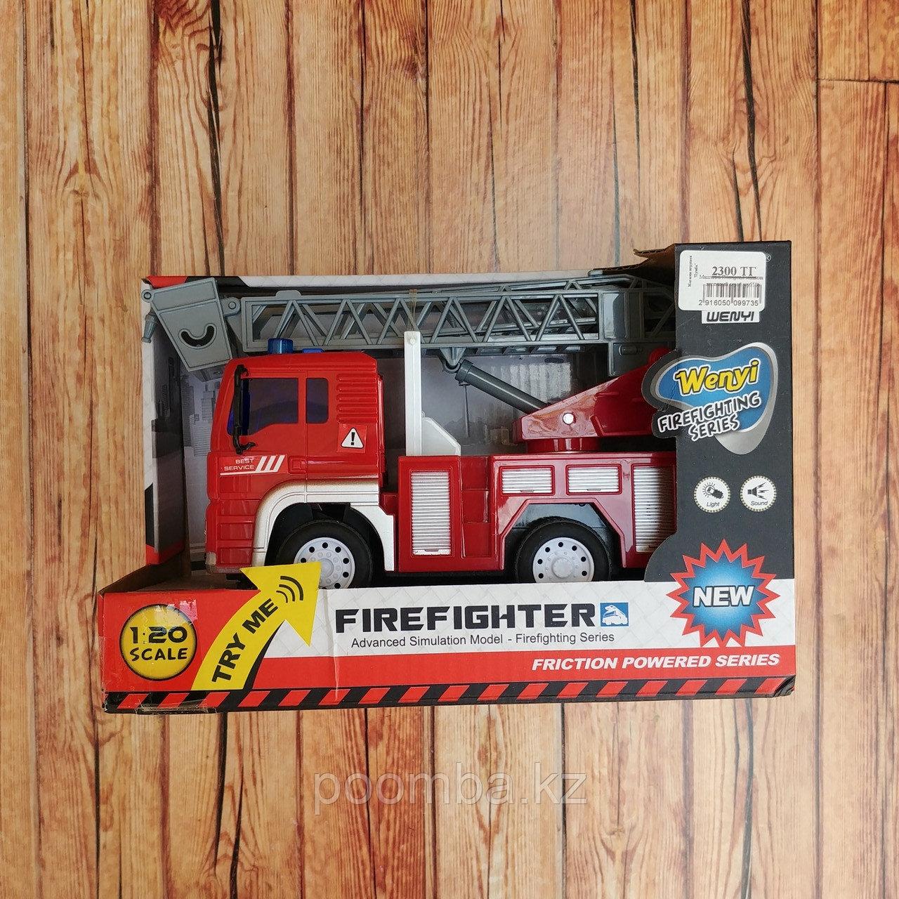 Машинка детская Пожарная