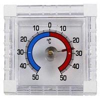 Термометр оконный квадратный для помещения и улицы