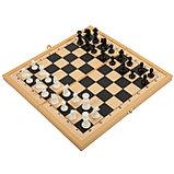 Удачная партия BONDIBON, 3в1 (шахматы, шашки, нарды), ВОХ 30, 1x15, 6x3, 5 см, арт. 18998., фото 2