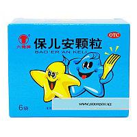 """Детский чай от кишечных паразитов """"Bao Er An Ke Li"""", фото 1"""