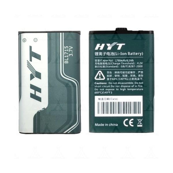 Аккумулятор HYT BL-1715 для TC-320