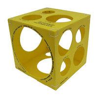Кубический калибратор на 3'  14', цвет жёлтый