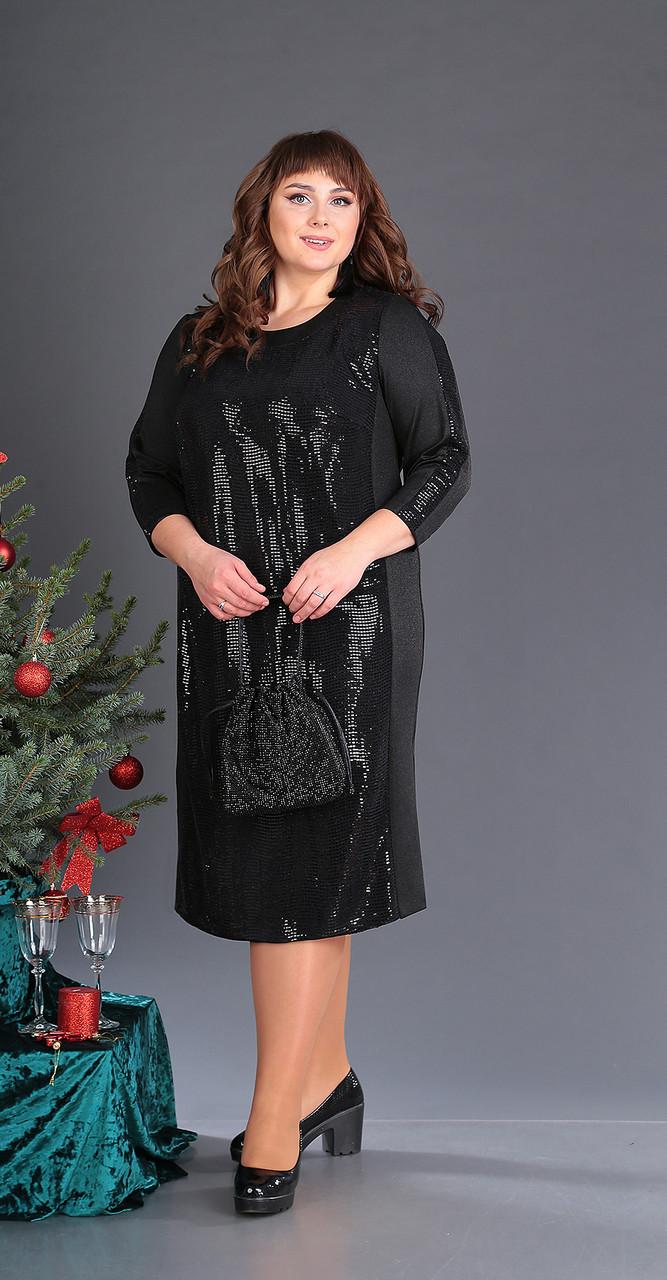 Платье Novella Sharm-3362, черный, 60