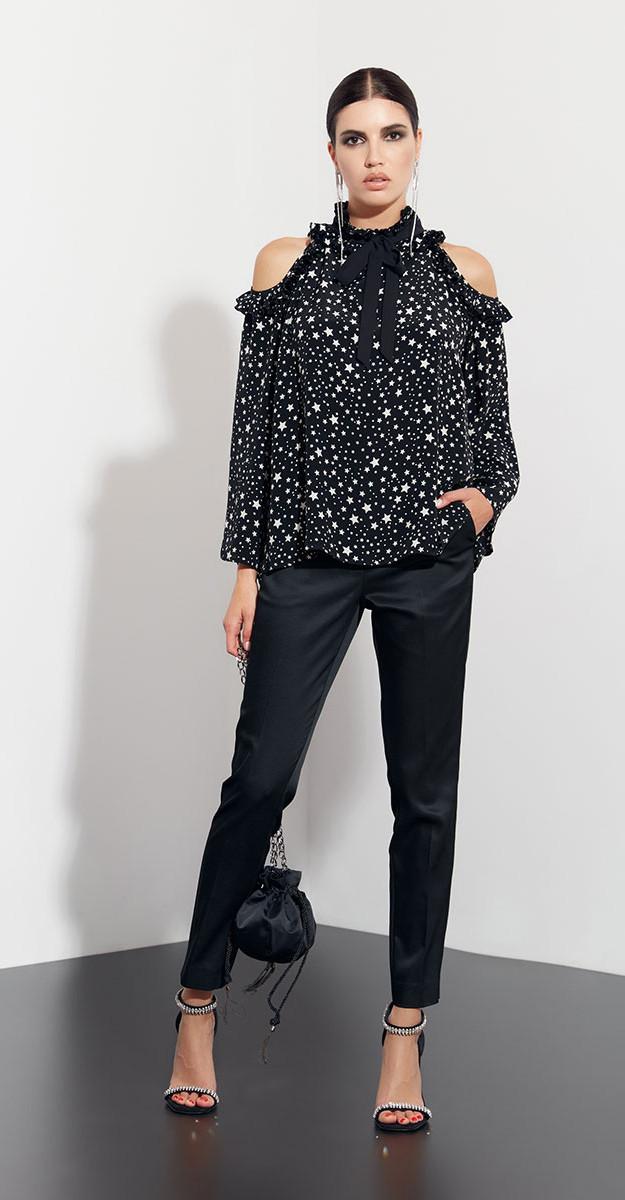 Блузка Favorini-21748, черный, 42