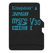 Kingston SDCG2/32GBSP Карта памяти 32GB microSDXC Canvas Go 90R/45W U3 UHS-I V30 без адаптера