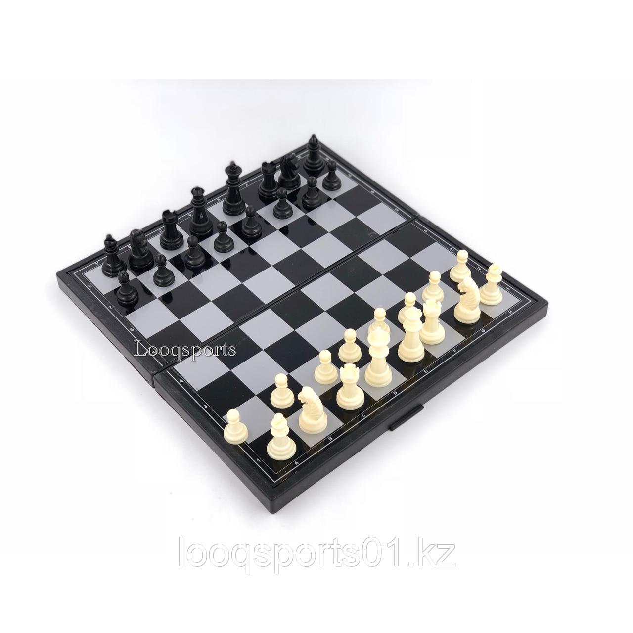 Магнитные шахматы 3в1
