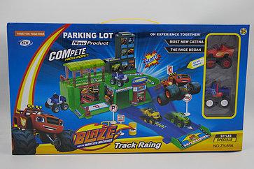 Набор машинок с паркингом