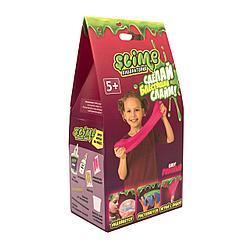 Набор для экспериментов Тянущийся слайм Slime *Лаборатория*, розовый, 100 гр